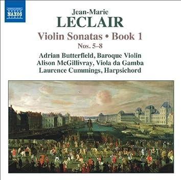 Leclair, J.-M.: Violin Sonatas, Op. 1, Nos. 5-8