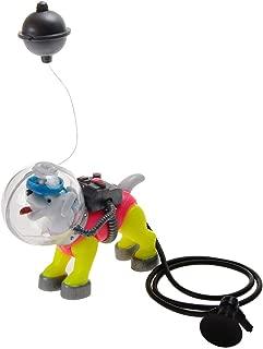 Saim Diving Space Dog Aquarium Decoration Fish Tank Ornament, Non-Toxic & Safe for All Fish & Pets
