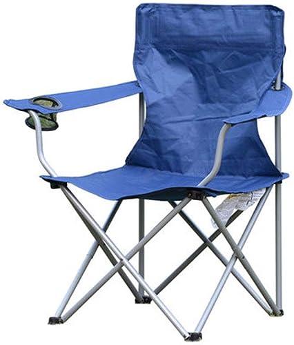 GLZDY Chaise De Pêche, Camping en Plein Air Loisirs De Loisirs Barbecue Chaise Pliante Accoudoir Chaise De Pêche De Pêche Anti- Hommest