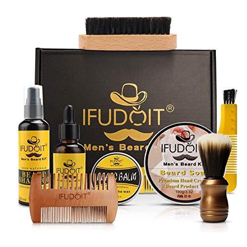 IFUDOIT Bartpflege-Set Männer