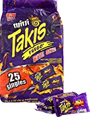 Product Of Barcel Takis , Mini Fuego Bag , Count 25 (1.2 Oz) - Chips / Grab All Varieties