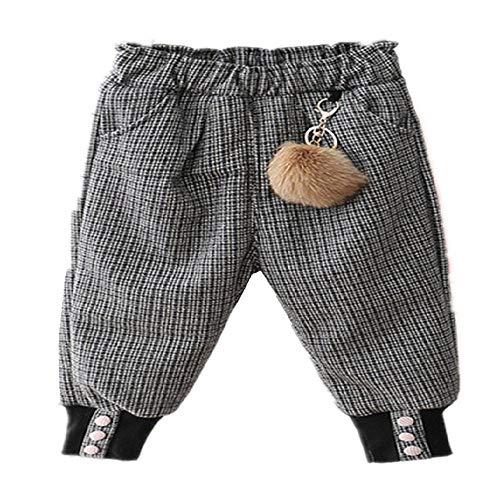 CZYTN - Pantalones de algodón para niños y niñas para bebé están hechos de ropa de otoño e invierno y tres capas gruesas para niños 2 100 cm