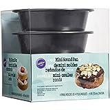 Mini Cake Pans 4/Pkg, Round 4'