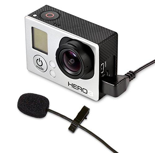 MXL MM-165GP Cortavientos micrófono para GoPro Negro