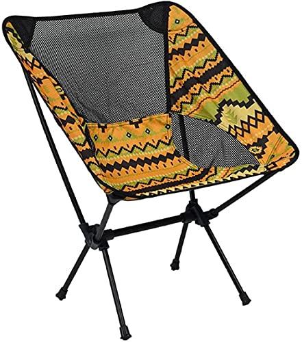 SSFZ Pequeña mochila plegable silla plegable portátil al aire libre silla super ligera playa camping silla bolsa para mochileros senderismo picnic pesca parque festival al aire libre playa etc