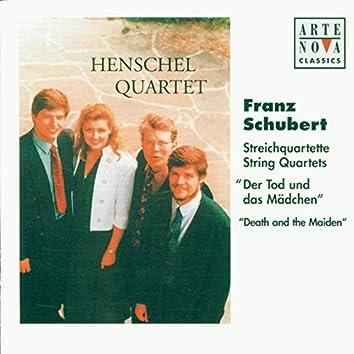 """Schubert: String Quartets Nos. 10 & 14, """"Der Tod und das Mädchen"""""""