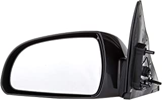 ROADFAR Black Side View Mirror Left Side Mirror Fit Compatible with 2006 2007 2008 2009 2010 Hyundai Sonata Non-Folding Heated Power Adjustment 876100A000-D03