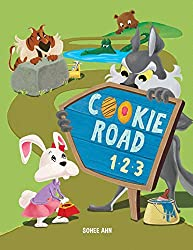cookie road 1 2 3 - counting book