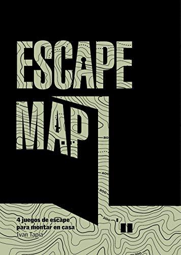 Escape map: 4 juegos de escape para montar en casa (Librojuego)