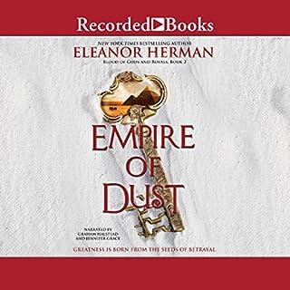 Empire of Dust audiobook cover art