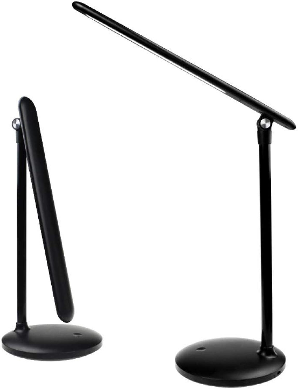 KFDQ Tischlampe, Stufenloses Dimmen, Lernen Der Augenpflege LED-Schreibtischlampe, Einfache Stilvolle USB, Die Intelligente Nachtlampe Aufldt