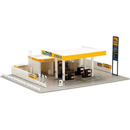 TOMIX Nゲージ ガソリンスタンド キグナス石油 4069 鉄道模型用品