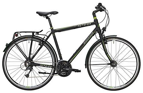 Trekkingbike Morrison S 4.0 Herren 28' 27-Gang Matt Black , Rahmenhöhen:XL(60);Farben:Matt Black