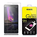Khaos for Lenovo PHAB 2 HD Clear Tempered Glass Screen Protector with Lifetime Replacement Warranty