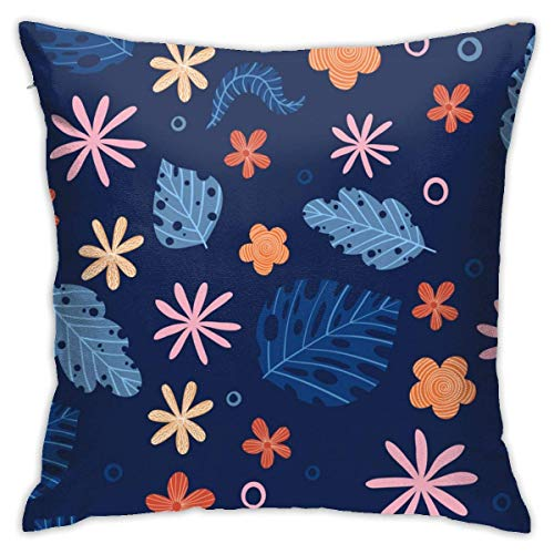 Moily Fayshow Abstract Hibiscus Flower Tribal Fabric 40 X 40 Cm Cushion Case European Throw Pillow Cover Decorative Pillow
