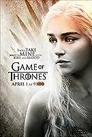 b直輸入、小ポスター「ゲーム・オブ・スローンズ」Game of Thrones、エミリア・クラーク