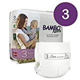 Bambo Nature Eco Friendly Premium Baby Diapers for Sensitive Skin, Size 3 (9-20 lbs), 33 Count