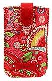 Oilily Smartphone Hülles Handyhülle 8.5 cm, Raspberry (Rot), Breite ca. 14 cm, Höhe ca. 9 cm, Tiefe ca. 0,5 cm