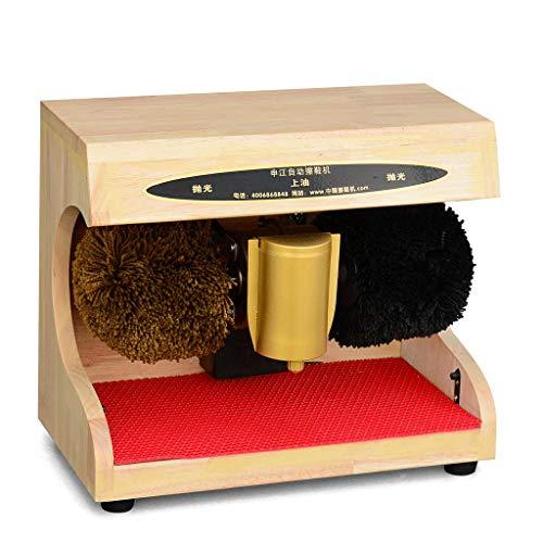 ZHAOJCXJ Elektrische Multifunktionsschuh-Poliermaschine, Schuhcreme-Maschine, Lederne Schuh-Bürste, beweglicher Aller Holz-hoher Grad-moderner Schuh-Poliermaschine (220v / 45w)