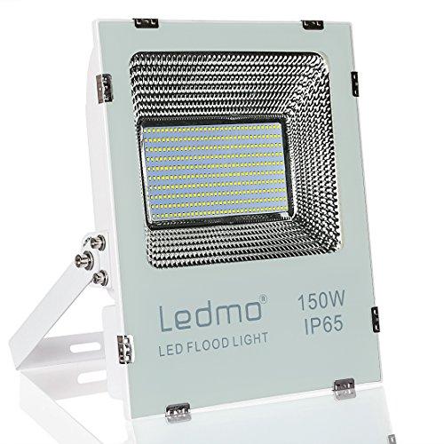 Projecteur LED Exterieur 150W Blanc Froid 6000K IP65 15000LM Projecteur LED AC220V-240V pour jardin, champ