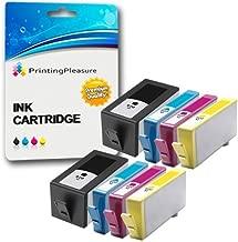 Printing Pleasure 8 Compatibles HP 920XL Cartuchos de Tinta con Chip Reemplazo para HP Officejet 6000 6500 6500A 7000 7500A - Negro/Cian/Magenta/Amarillo, Alta Capacidad