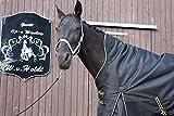 time4horses 1200Denir High Neck Regendecke Paddockdecke Stalldecke Weidedecke