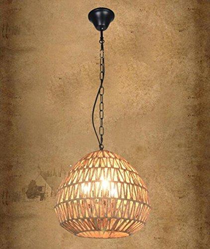 Suspensions 111V ~ 240V LED E27 en forme d'oeuf pendentif lumières pour Loft, Restaurant, Café, Hôtel, Bar, Accueil (D350 * H350 (mm))