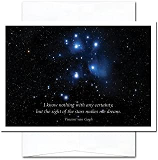 New Year Cards-Sight of Stars 10 Cards & Env Made in USA by CroninCardsProfessional or Personal Use