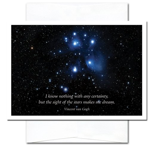 Sight of the Stars: New Year Holiday Cards - box of 10 cards and envelopes