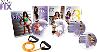 BQN Oriflame 21 Day Fix Workout Program 4 DVD Set with Eating Plan