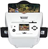 ClearClick Photo to Digital Photo, Slide, and Film Scanner with 4 GB Memory Card & Photo Editing Software