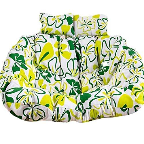 HUHUA Cuscino di Seduta per Sedia sospesa Amaca Grande Cuscino per Sedia a Sospensione con Cuscino, Nido D'uovo Sagomato Cuscini per Giardino con Patio Esterno