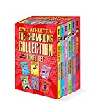 Epic Athletes: The Champions Collection Boxed Set: (Stephen Curry, Alex Morgan, Serena Williams, Tom Brady, LeBron James, Lionel Messi)