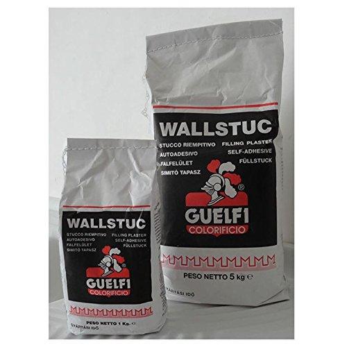 WALLSTUC 1 Kg Stucco rasante in polvere muri interni ritocchi riempitivo GUELFI
