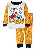 Sesame Street Hungry Halloween Monster Baby Boys 2 Piece Sleepwear Pajama Set (12 Months)