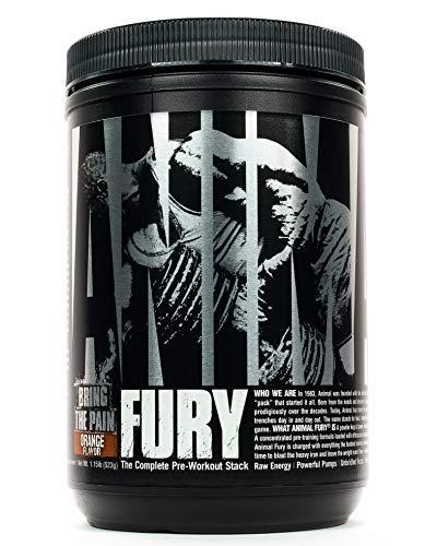 Universal Nutrition Animal Fury Pre-Workout Booster Trainingsbooster 512g (Orange)