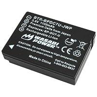 Wasabi Power Battery for Leica bp-dc7、bp-dc7-e、bp-dc7-u、bp-dc-u、bp-dc and Leica v-lux 20、v-lux 30、v-lux 40