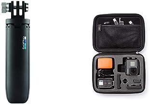 GoPro Shorty - Mini-Verlängerungsstange und Stativ schwarz (Offizielles GoPro-Zubehör) & Amazon Basics Tragetasche für Go...