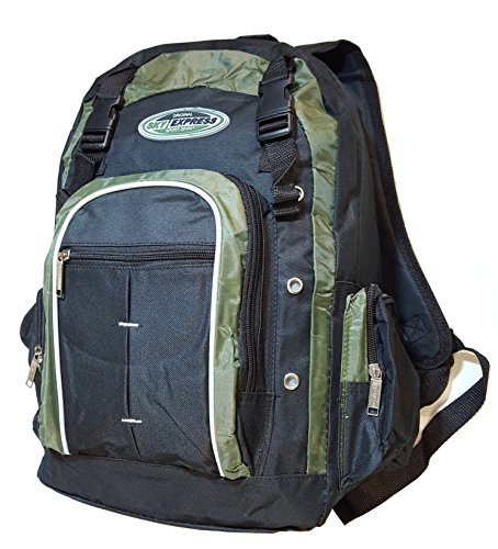Rucksack 36 Litres Sky Express 5 Pocket Multicolour green / black