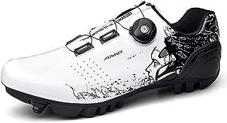 Chaussures De Vélo De Route en Plein Air pour Hommes De Haute Qualité Style Graffiti avec Serrure