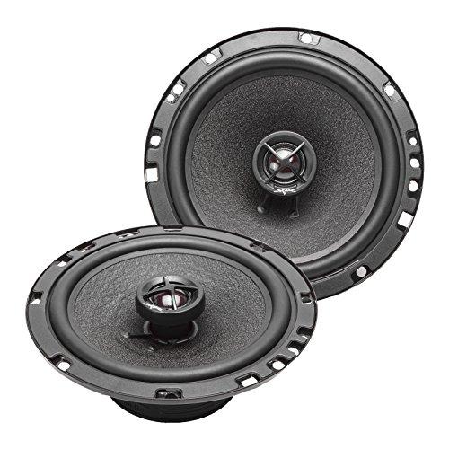 Skar Audio SK65 6.5' 160W 2-Way Performance Coaxial Car Speakers, Pair