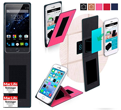 Hülle für Ulefone Be Touch 3 Tasche Cover Case Bumper | Pink | Testsieger