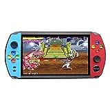 CMOM - Consola de Videojuegos para niños, Consola de Juegos Retro, 2000 Juegos, móvil HD, Pantalla de 7 Pulgadas, Capacidad de 8 GB/16 GB, Reproductor de videoconsola, niños