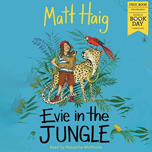 Couverture de Evie in the Jungle
