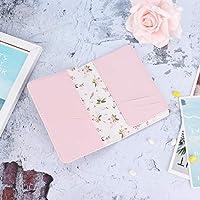 パスポートカードに便利なクレジットカードホルダー(Pink flowers)