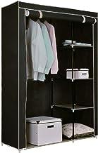 Fabric Storage Cabinet Black WC7002
