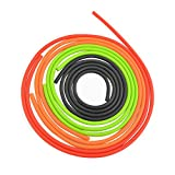 AMEYXGS Archery Peep Sight Pull Line Gel Tubing Peep Sight Replacement Tubing 3 Meter Compound Bow Accessories (Orange)