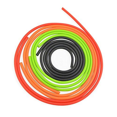 AMEYXGS 3m Peep Sight Ersetzen Peep Sight Ersatzschlauch für Compoundbogen (schwarz)
