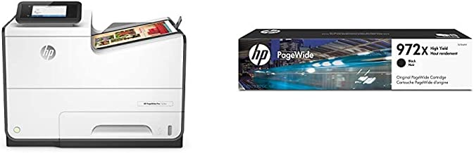 HP PageWide Pro 552DW Color Business Printer, Wireless & 2-Sided Duplex Printing (D3Q17A) with High Yield Black Ink Cartri...