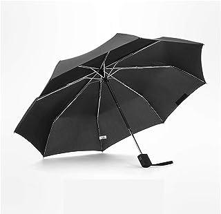 QYSZYG 家庭用パラソル、防風自動パラソル、男性用折りたたみパラソル、雨傘、日焼け防止パラソル 傘